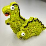 dinosaur rice krispie treats