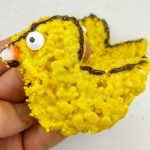 rice krispie treat chicks