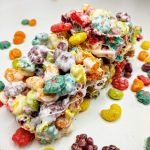 stack of trix cereal bars