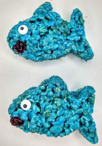 Baby Shark Rice Krispie Treats