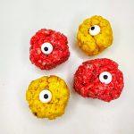4 eyeball rice krispie treats