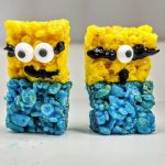 minion rice krispie treats