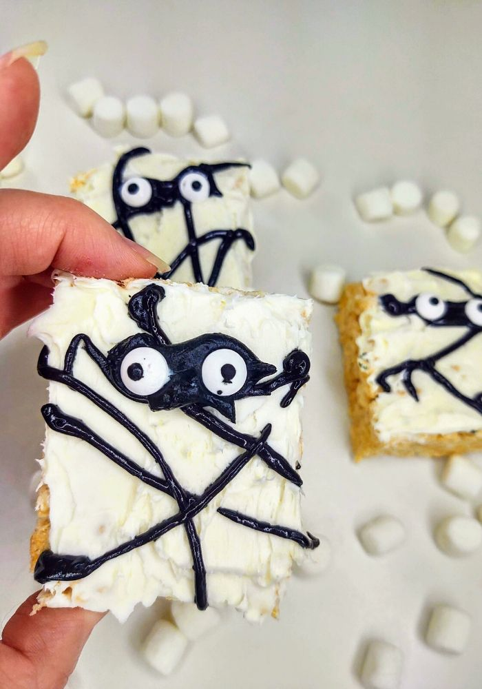 mummy rice krispie treats