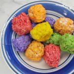 rice krispie balls