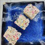 rice krispie treats with sprinkles