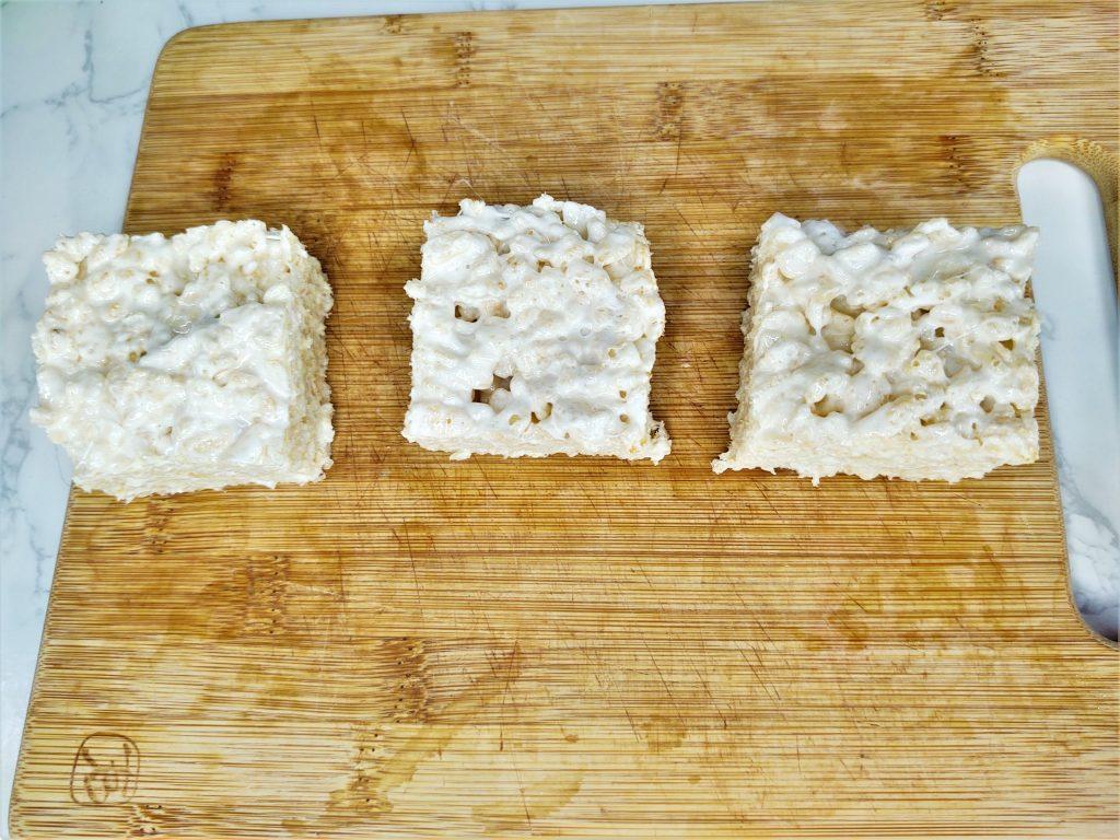 frosted rice krispie treats